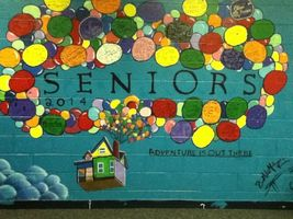 Senior Wall Painting