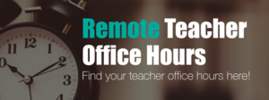 CMHS Teacher Office Hours