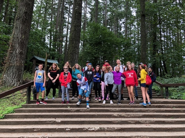 Crow MS at Spencer's Butte