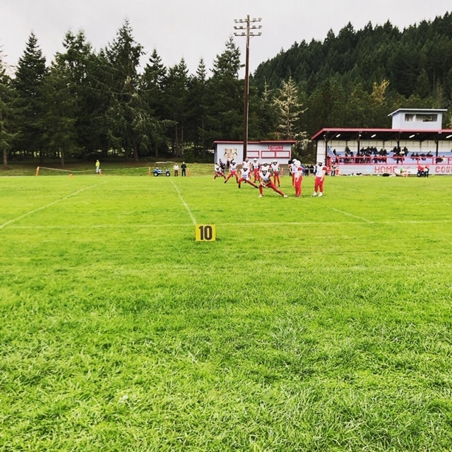 MS Football vs. Siletz